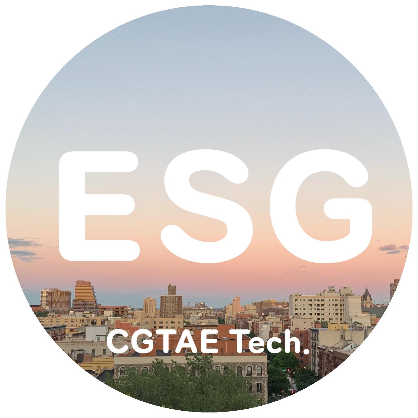 CGTae ESG Report